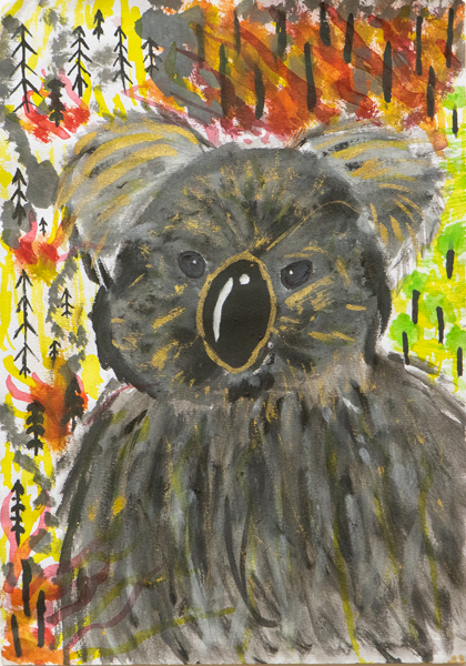 24. Hailie Attwells, 'Koala', Yr 6, St Agnes Primary School, Port Macquarie