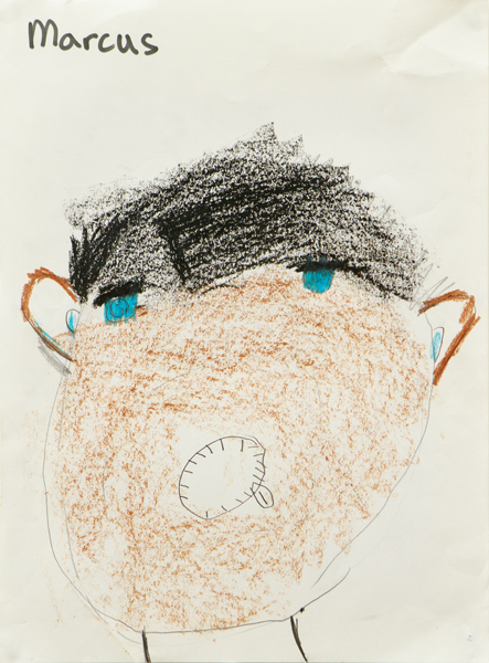 25. Marcus Azzopardi, 'Self Portrait', Yr 3, Bundarra Central School