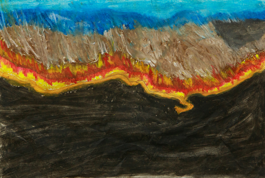 26. Tiffany Blackwell, 'Bush Fire', Yr 6, Woolomin Public School