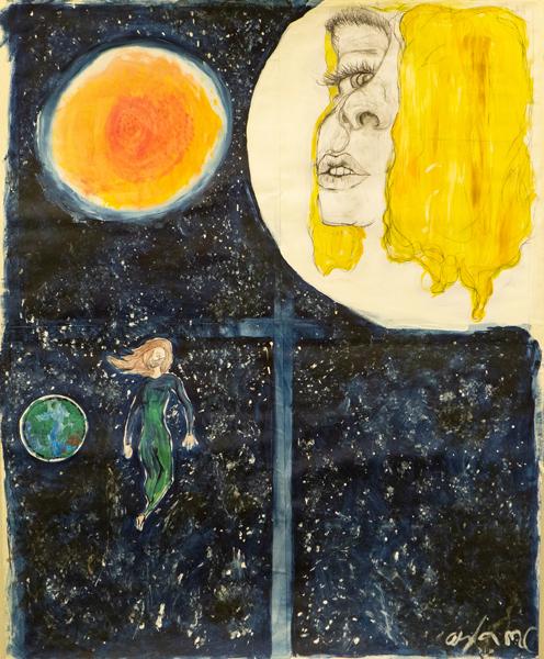 39. Ayla Mendez Caldeira, 'Queen of a Dead Planet', Yr 6, St John's Primary School, Mullumbimby