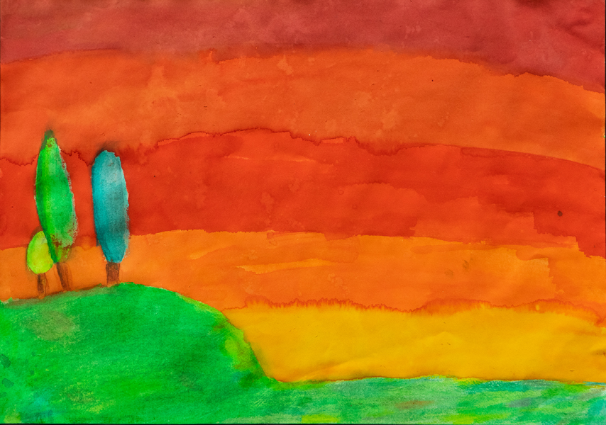 27. Mariah Carlon, 'As the Sun Sets…', Yr 6, St Joseph's Primary School, Uralla