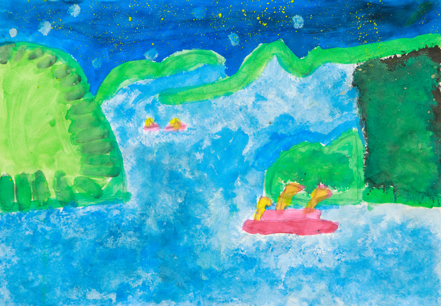 28. Harmony Casey, 'The Misty Mountains', Yr 5, Drummond Memorial Public School, Armidale