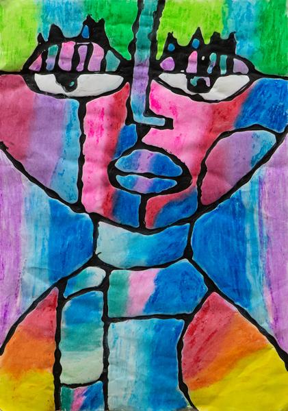 31. Hanna Foster, 'Portrait', Yr 5, Dorrigo Public School