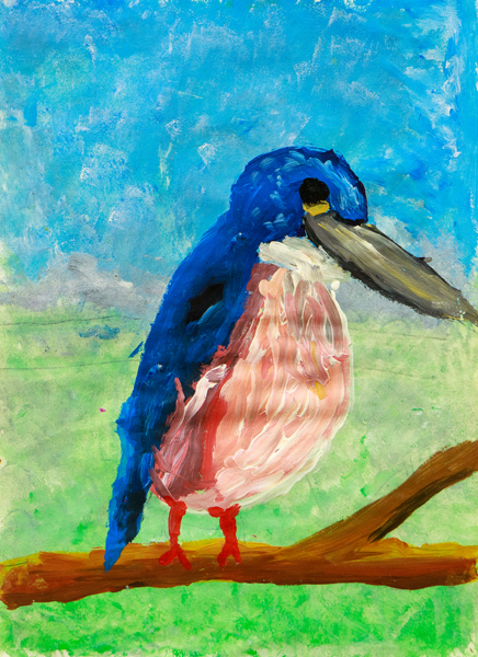 42. Fred Street, 'Kingfisher', Yr 4, Kentucky Public School