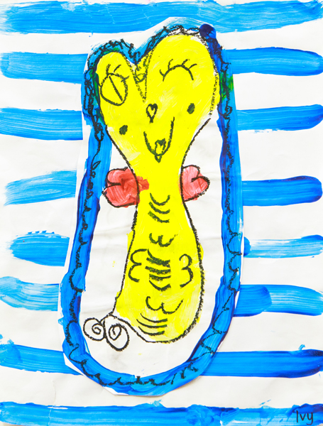 07. Ivy Gleeson, '1 Fish, 2 Fish, Red Fish, Blue Fish', Kindergarten, St Agnes Primary School, Port Macquarie