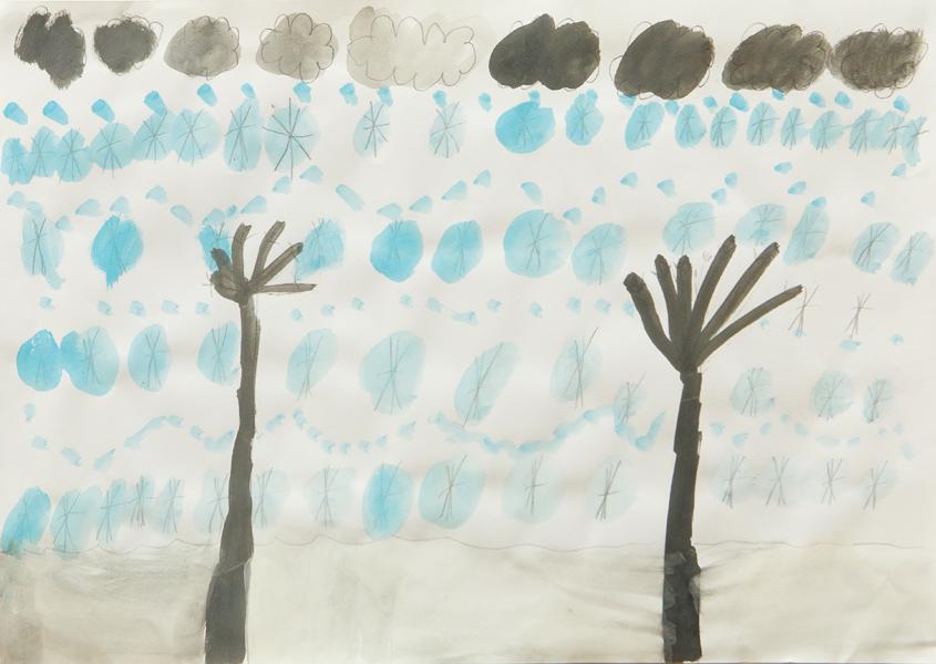 35. Frankie Healey, 'Snowy Day', Yr 3, St Patrick's School, Walcha