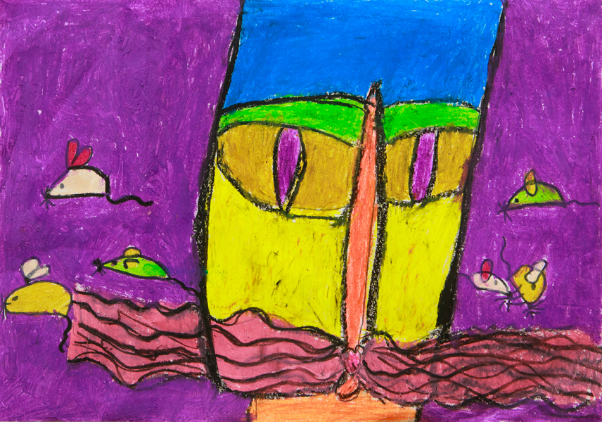 14. Charlotte Manners, 'Kitty Cat', Kindergarten, Tamworth Public School