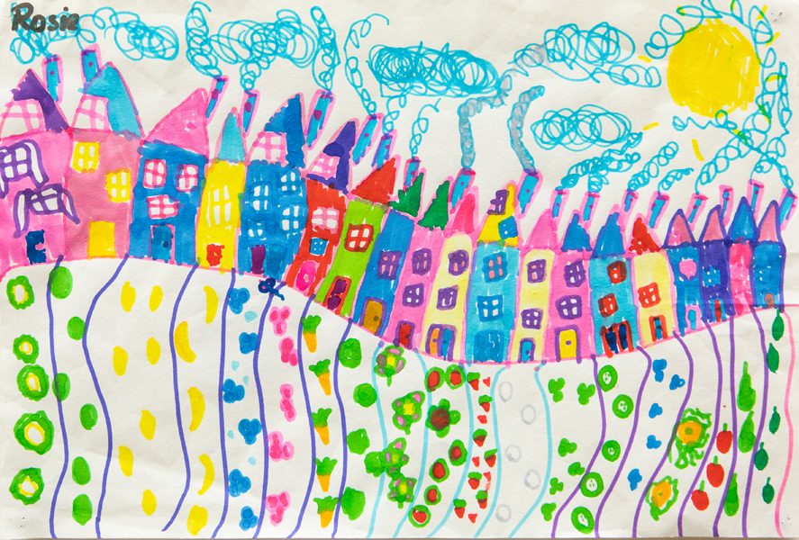 09. Anika-Rose Ho, 'City', Yr 1, Hastings Public School, Port Macquarie