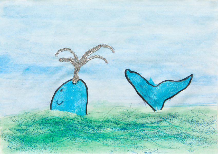 21. Harper Tompkins, 'The Magic Whale', Yr 2, Dorrigo Public School