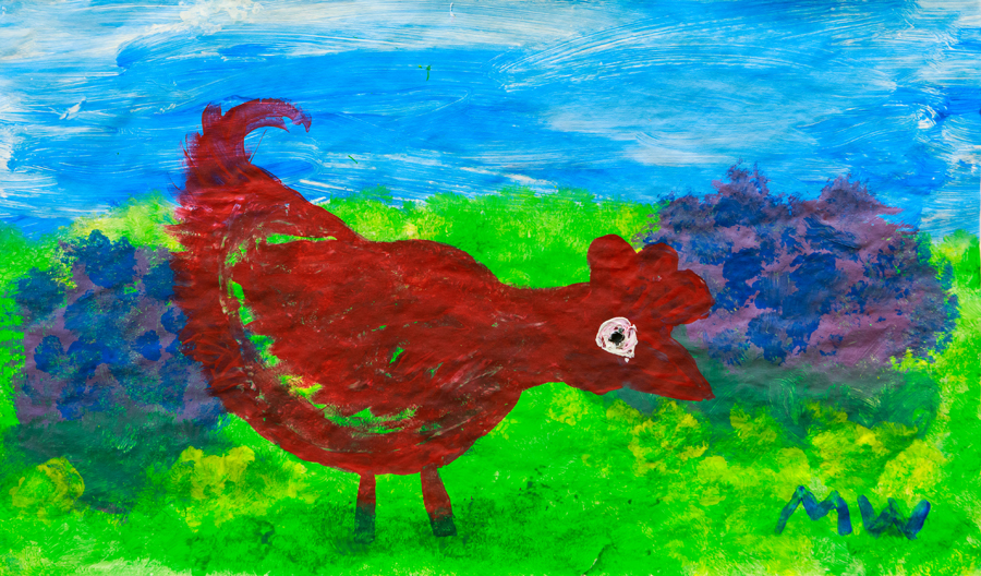 22. Molly Welsh, 'Mother Hen', Yr 1, Hernani Public School