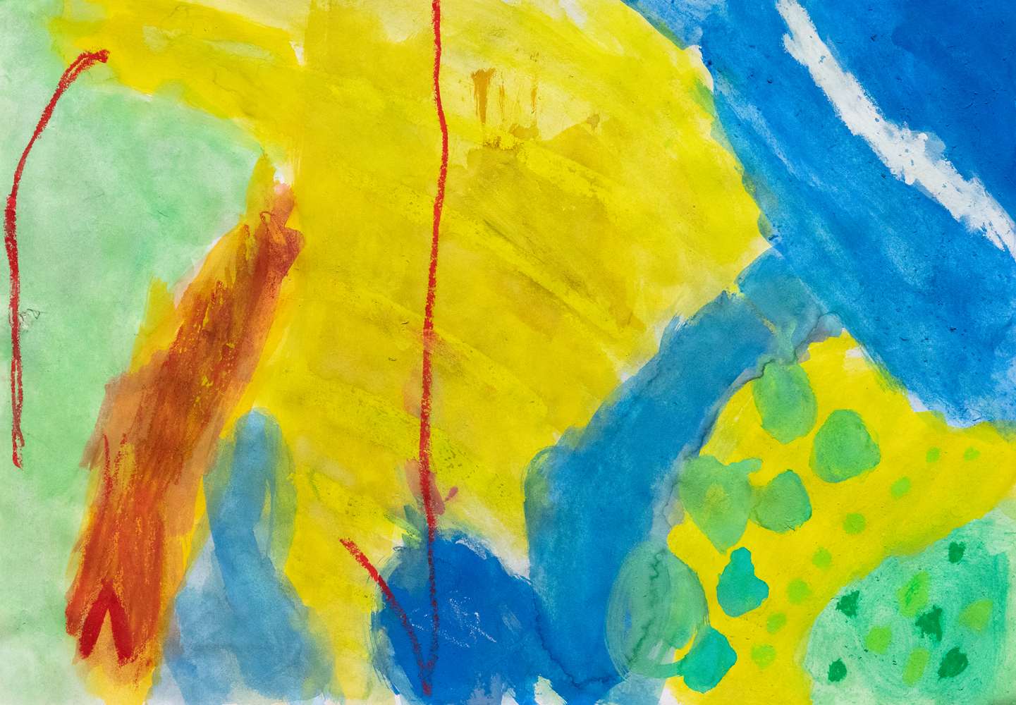 02. Claire Williams, 'Masterpiece of mystery', watercolour, crayon, Year 2, St Patrick's School, Walcha