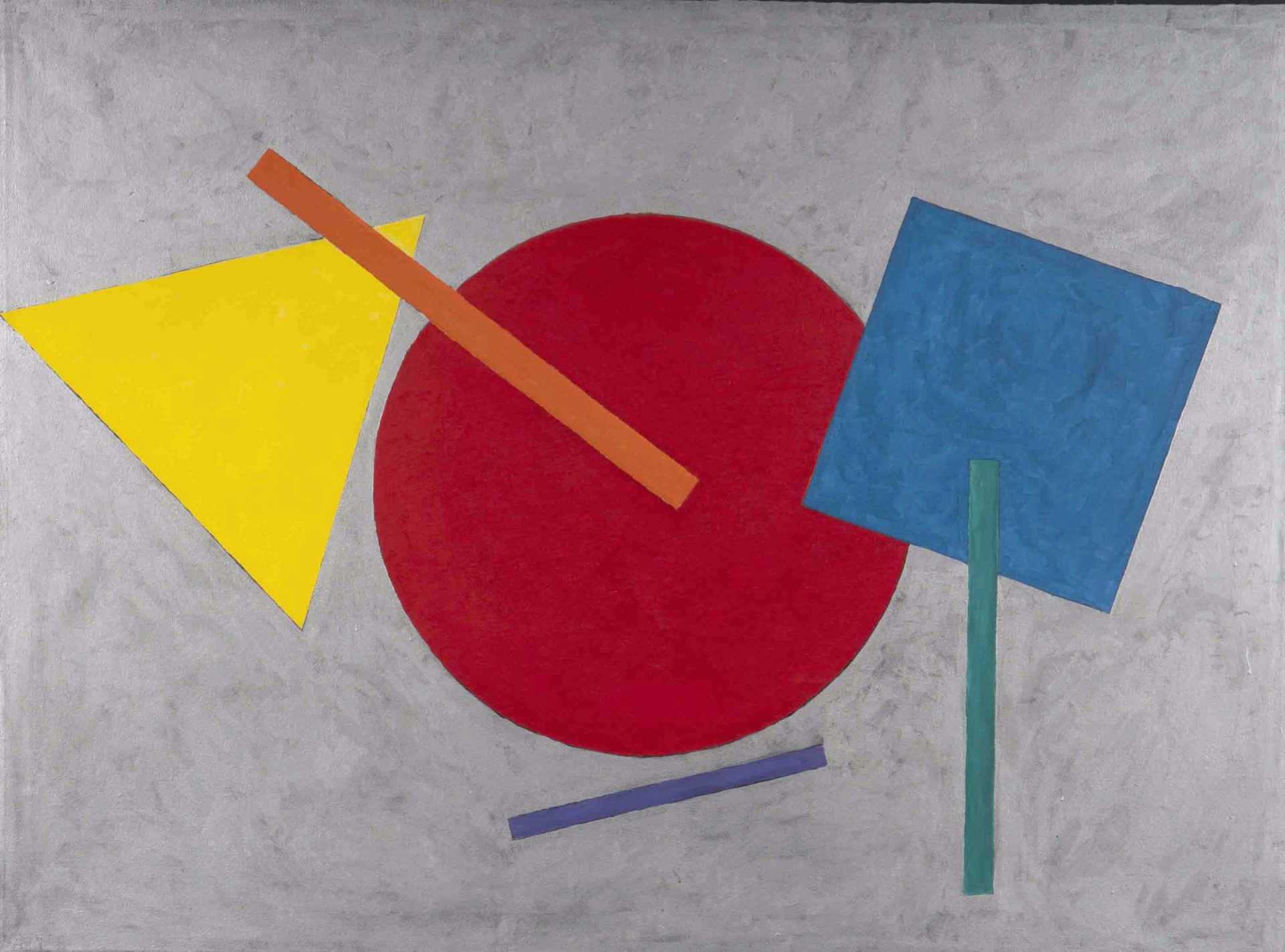 Gunter Christmann, 'Attis', 1975, acrylic on canvas, Gift of Chandler Coventry 1979