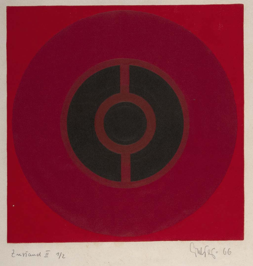 Albrecht Geiger, 'Instand 11', 1966, etching, Gift of Chandler Coventry 1979